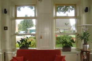 Mogelijkheden aandragen voor ophangen van raamdecoratie